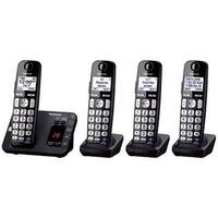 "Panasonic Consumer - Kx-Tge234b - 4 Hs Adv Tad 1.8"" Wht Lcd Ph"