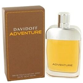 Davidoff Adventure by Davidoff Eau De Toilette Spray 3.4 oz - Men