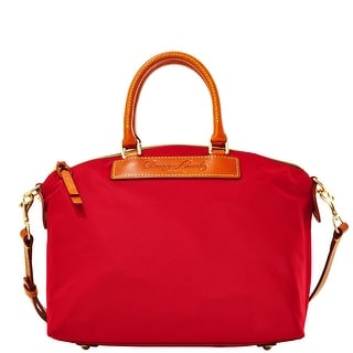 Dooney & Bourke Nylon Satchel (Introduced by Dooney & Bourke at $168 in Feb 2014) - Red