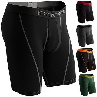 """ExOfficio Give-N-Go 9"""" Breathable Quick Drying Sport Mesh Boxer Brief"""