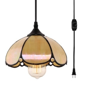 Vintage Plug In Pendant Light