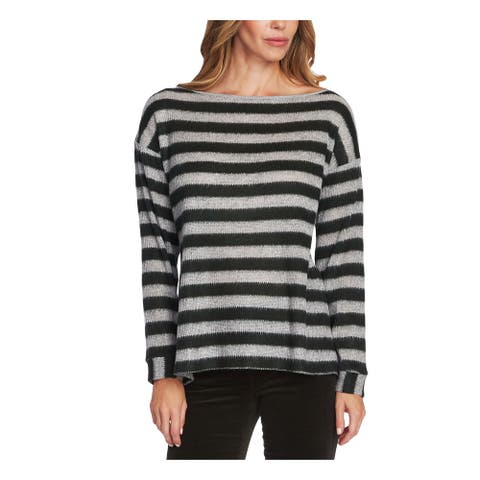 TWO BY VINCE CAMUTO Gray Long Sleeve Tunic Sweater S