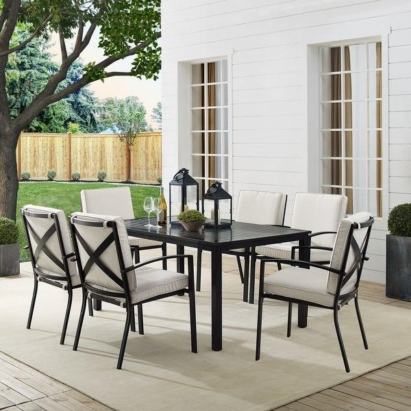 Kaplan 7Pc Outdoor Dining Set. Opens flyout.