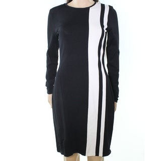 Lauren Ralph Lauren NEW Black Ivory Womens Size Small S Sweater Dress|https://ak1.ostkcdn.com/images/products/is/images/direct/41647e3620ed58bcfb067303666c9bf28c055b8a/Lauren-Ralph-Lauren-NEW-Black-Ivory-Womens-Size-Small-S-Sweater-Dress.jpg?_ostk_perf_=percv&impolicy=medium