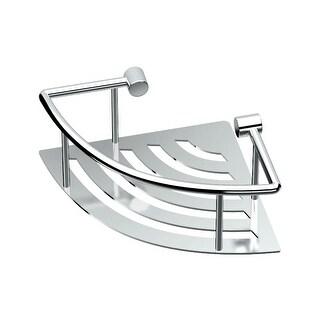 """Gatco 1452 Elegant 8"""" Corner Shower Shelf"""