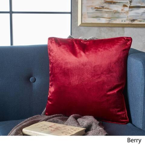 Ippolito New Velvet Pillow by Christopher Knight Home