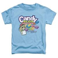 Dubble Bubble-Candy Blox - Short Sleeve Toddler Tee - Carolina