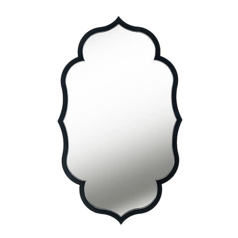 Mila Black Wall Mirror - 40x24