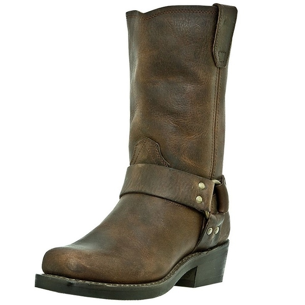 Dingo Motorcycle Boots Womens Molly Harness Gaucho Nutty Mule