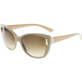 Bvlgari Women's BV8170-538213-57 Clear Cat Eye Sunglasses