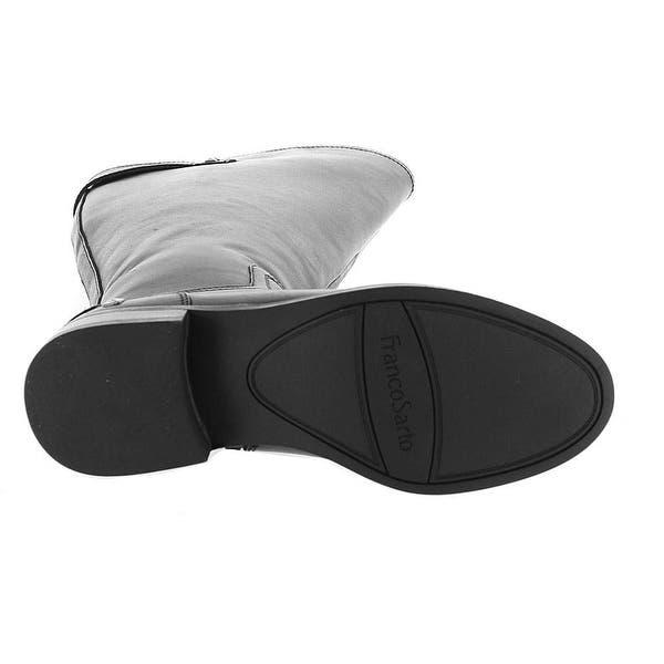 161d091a1d9 Shop Franco Sarto Womens Henrietta Leather Almond Toe Knee High ...