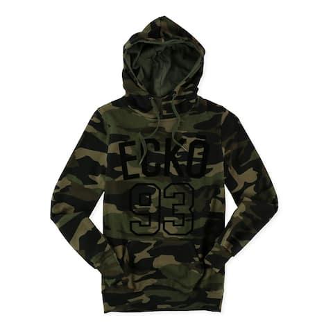 Ecko Unltd. Womens Camo Pullover Hoodie Sweatshirt