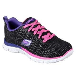 Skechers 81834L BPPR Girl's SKECH APPEAL - GLITTER RUSH Sneaker