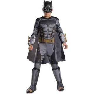 Boys Deluxe Tactical Batman Halloween Costume (3 options available)