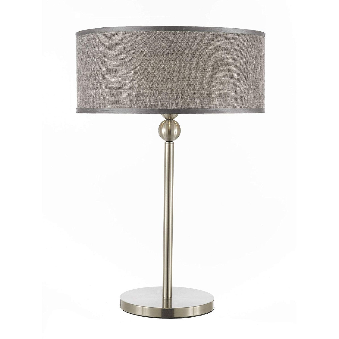 Contemporary Stewart 3 Light Table Lamp Silver Desk Lamp Bedside Lamp