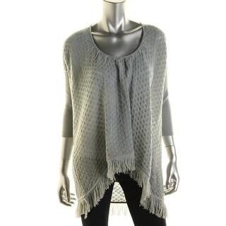 Catherine Malandrino Womens Wool Hi-Low Pullover Sweater - S