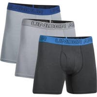 Under Armour  6 in. Charged Cotton Undergraments, Anthracite &