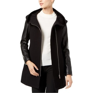 Link to Calvin Klein Womens Hooded Jacket, black, Medium Similar Items in Women's Outerwear