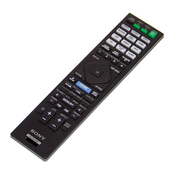 NEW OEM Sony Remote Control Originally Shipped With STR-ZA2100ES, STRZA2100ES