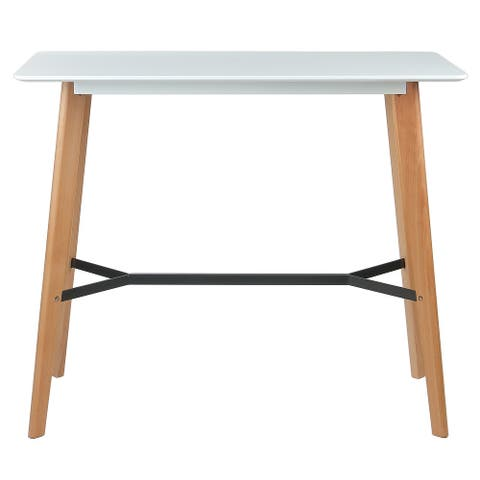 Modern Bar Height Table Standing Desk