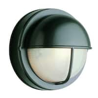 Trans Globe Lighting 4120 Bulkhead 1 Light Outdoor Wall Sconce