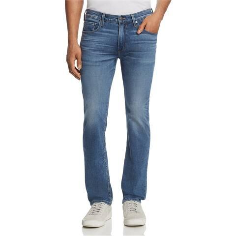 Paige Mens Federal Slim Fit Jeans, blue, 32W x 33L - 32W x 33L