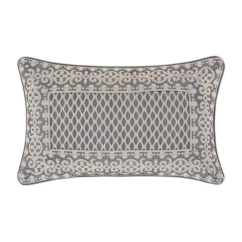 Five Queens Court Houston Boudoir Decorative Throw Pillow