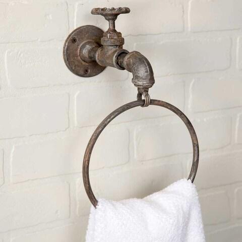 Water Spigot Towel Ring -2Pack