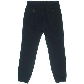 Vince Mens Flat Front Silt Pockets Jogger Pants