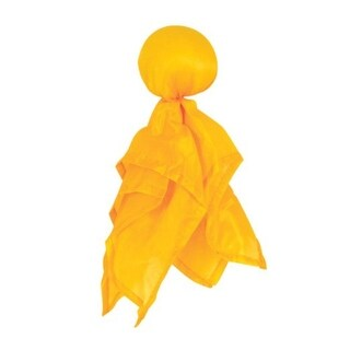 Club Pack of 12 American Football Penalty Flag Superbowl Party Accessories - YELLOW