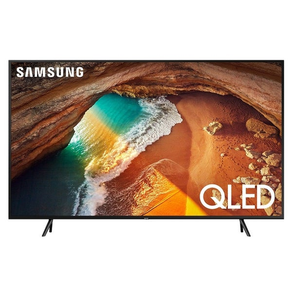 "Samsung QN49Q60R 49"" QLED 4K Smart TV with Bixby Intelligent Voice Assistant - Black"