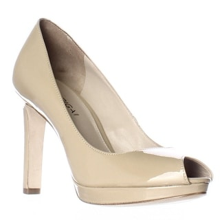 Via Spiga Brandy Peep Toe Dress Pumps - Nude