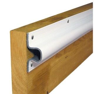 Dock Edge 50121M DOCK EDGE C GUARD PVC DOCK PROFILE 4-6' SECTIONS WHITE