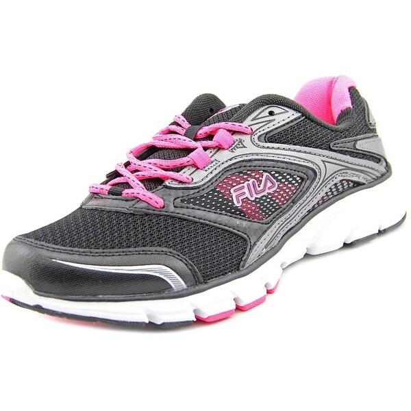 Fila Stir Up Women Round Toe Synthetic Black Running Shoe