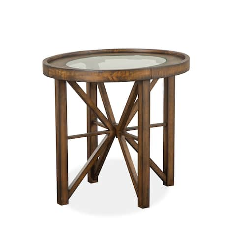 Kirkpatrick Oval End Table