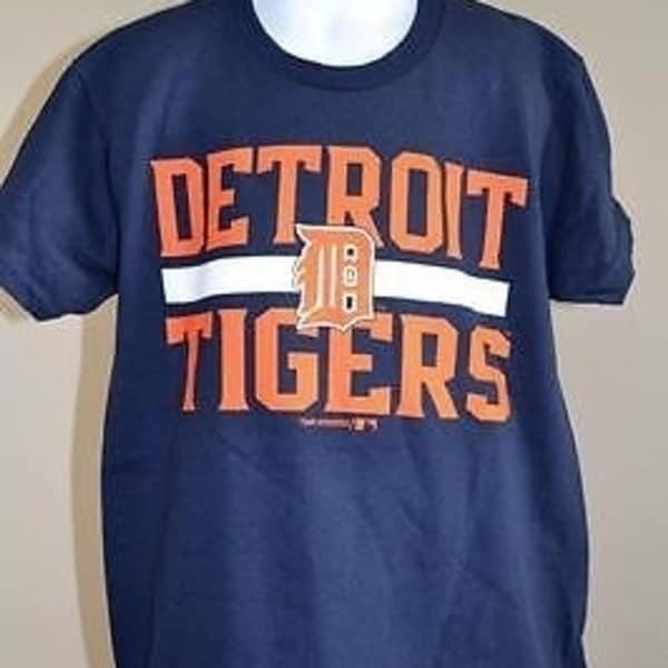 cheap for discount e4d68 61747 Minor Flaw - Mlb Detroit Tigers Youth Medium (M) Navy Blue T- Shirt 66Ts