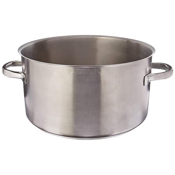 Shop Paderno World Cuisine 104 1 2 Quart Stainless Steel Sauce Pot