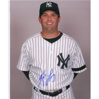 Signed Long Kevin New York Yankees 8x10 Photo autographed