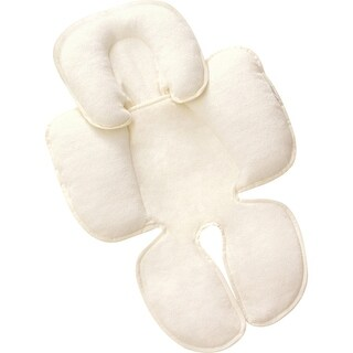 """Summer Infant 77510B Summer Infant Snuzzler Infant Support for Carseat and Strollers - Ivory - Support Baby's Head and"