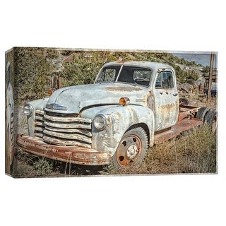 "PTM Images 9-103758  PTM Canvas Collection 8"" x 10"" - ""Vintage Pickup Truck 2"" Giclee Country Life Art Print on Canvas"