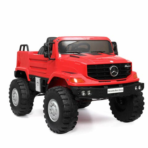 12V Electric Kids Ride on Car Remote Control Truck Battery Powered