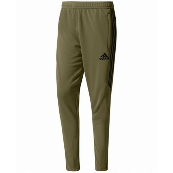 268b918fc506 Shop Adidas Olive Green Mens Size XL Jogging Elastic-Waist Pull-On Pants -  Free Shipping On Orders Over  45 - Overstock - 27369577
