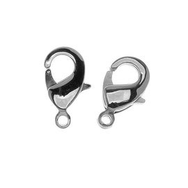 Stainless Steel Curved Lobster Clasps 12mm (2)