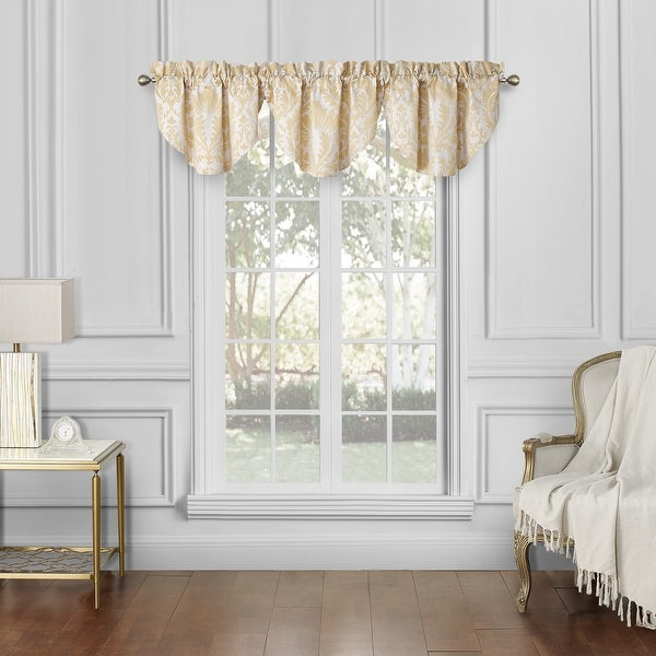 Waterford Maia Cascade Valances Set of 3 - 40x22. Opens flyout.