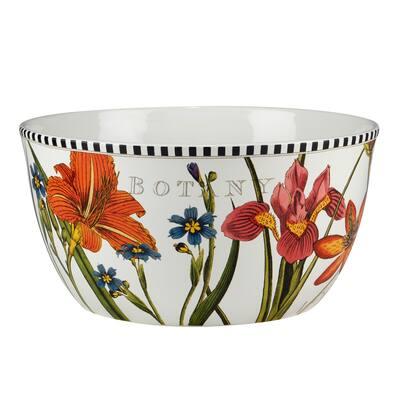 Certified International Botanical Flora 192 oz. Deep Serving Bowl