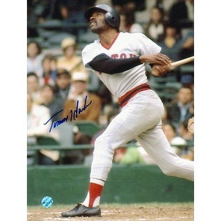 Autographed Tommy Harper Boston Red Sox 8x10 Photo