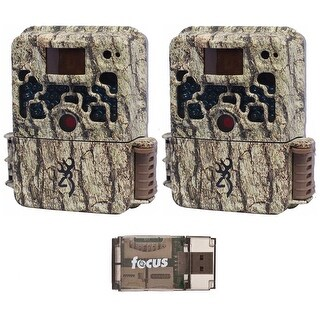 Browning Strike Force Extreme Game Camera (2) with USB 2.0 Card Reader - Camouflage