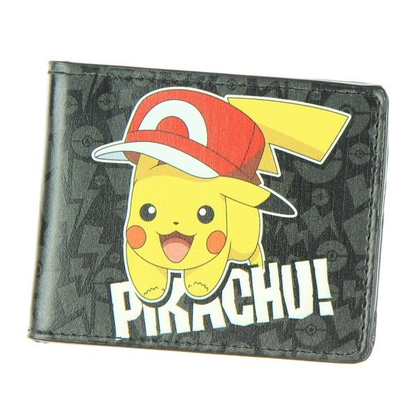 Buckle Down Pikachu! Kalos Hat Pose Bi-fold Wallet