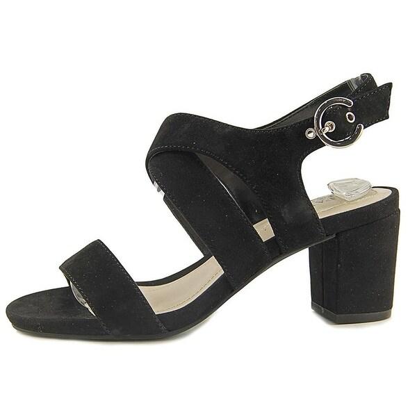 Alfani Womens Regann Leather Open Toe Casual Ankle Strap Sandals - 6.5