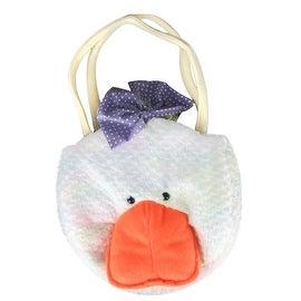Plush Duck Little Girl Handbag Purse by Gitzy